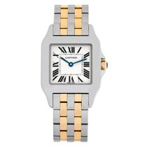 Cartier Santos Demoiselle Steel 26mm Champagne Roman numerals United States of America, Florida, Surfside