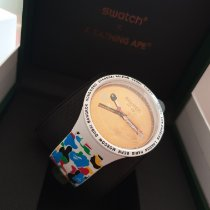 Swatch (SO27Z710) Unworn Plastic 47mm Quartz UAE, abudhabi