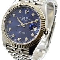 Rolex Datejust II 41mm Azul