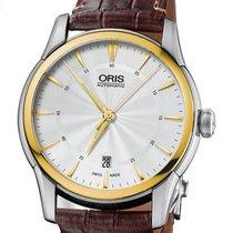 Oris Steel 40mm Automatic 01 733 7670 4351-07 1 21 73FC new