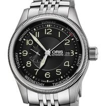 Oris Big Crown Small Second Pointer Day Steel 44mm Black