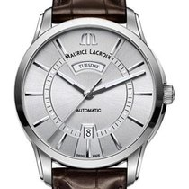 Maurice Lacroix Pontos Day Date 41mm Silver