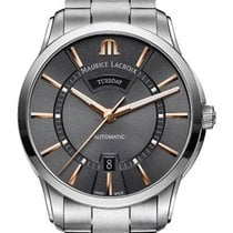 Maurice Lacroix Pontos Day Date 41mm Grey