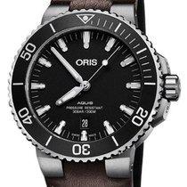 Oris 01 733 7730 4124-07 5 24 10EB Steel 2020 Aquis Date 44mm new