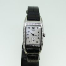 Longines BelleArti Steel 49.16mm Mother of pearl Arabic numerals