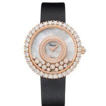 Chopard 204445-5001 Růžové zlato Happy Diamonds nové