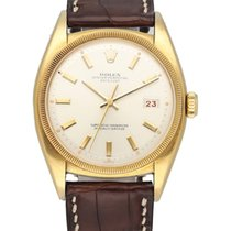 Rolex Yellow gold Automatic Grey 36mm pre-owned Bubble Back