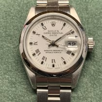 Rolex Oyster Perpetual Lady Date Acero 26mm Blanco España, Madrid