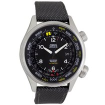Oris Big Crown ProPilot Altimeter Acier 47mm Noir