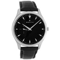 Zenith Elite Ultra Thin pre-owned 40mm Black Year Leather