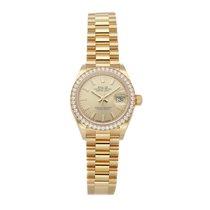 Rolex Lady-Datejust Yellow gold 28mm Champagne No numerals United States of America, Pennsylvania, Bala Cynwyd