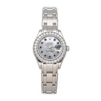 Rolex Lady-Datejust Pearlmaster White gold 29mm White