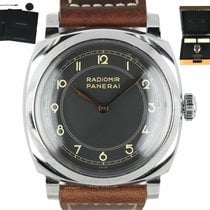 Panerai Steel Automatic Black Arabic numerals 47mm pre-owned Special Editions