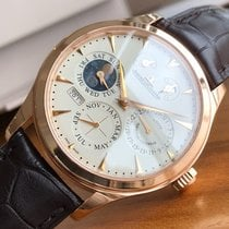 Jaeger-LeCoultre Master Eight Days Perpetual Oro rosa 40mm Blanco Sin cifras