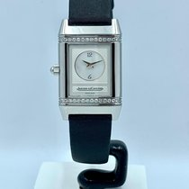 Jaeger-LeCoultre Reverso Duetto occasion 21mm Nacre Satin