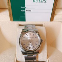 Rolex Air King Steel 34mm Silver Arabic numerals Singapore, Singapore