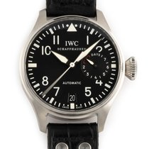 IWC Big Pilot Steel 46mm Black Arabic numerals United States of America, Florida, Hollywood