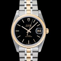 Tudor Prince Date 74033-0003 New Yellow gold 34mm Automatic