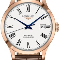 Longines Record new 2020 Automatic Watch with original box L2.820.8.11.2