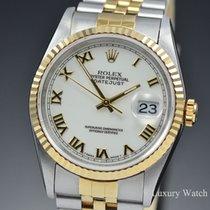 Rolex Datejust 16233 Sin usar Acero y oro 36mm Automático