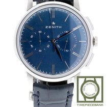 Zenith Elite Chronograph Classic Acier 42mm Bleu Belgique, Antwerp
