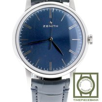 Zenith Elite 6150 Acero 42mm Azul