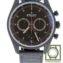 Zenith El Primero Chronomaster Céramique 42mm Noir Sans chiffres