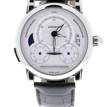 Montblanc Steel 43mm Automatic 111012 new