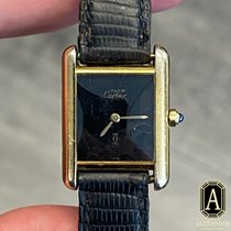Cartier Tank Vermeil Silver Gold No numerals United States of America, California, Beverly Hills