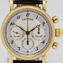 Chronoswiss Yellow gold Manual winding 34mm pre-owned Kairos