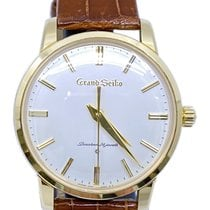 Seiko Grand Seiko Yellow gold 38mm Silver No numerals United States of America, Florida