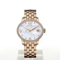 Girard Perregaux Rose gold 35.4mm Automatic 80484D52A761-52A new