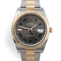 Rolex Datejust Gold/Steel 41mm Grey Roman numerals United Kingdom, London