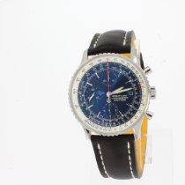 Breitling Navitimer Heritage Сталь 41mm Синий