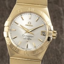Omega Constellation Men Gulguld 38mm Silver