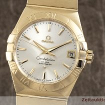Omega Constellation Men 38mm Gümüş