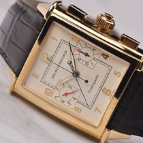 Girard Perregaux Yellow gold Automatic 90210-51-811-BA6A pre-owned