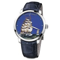Ulysse Nardin San Marco Cloisonné new 2020 Automatic Watch with original box and original papers 8150-111-2/KRUZ