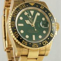 Rolex Oro amarillo Automático Verde 40mm usados GMT-Master II