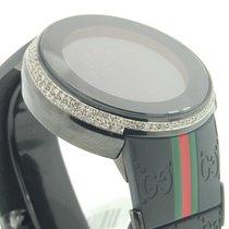 Gucci usados Cuarzo 44mm Negro Cristal de zafiro 3 ATM