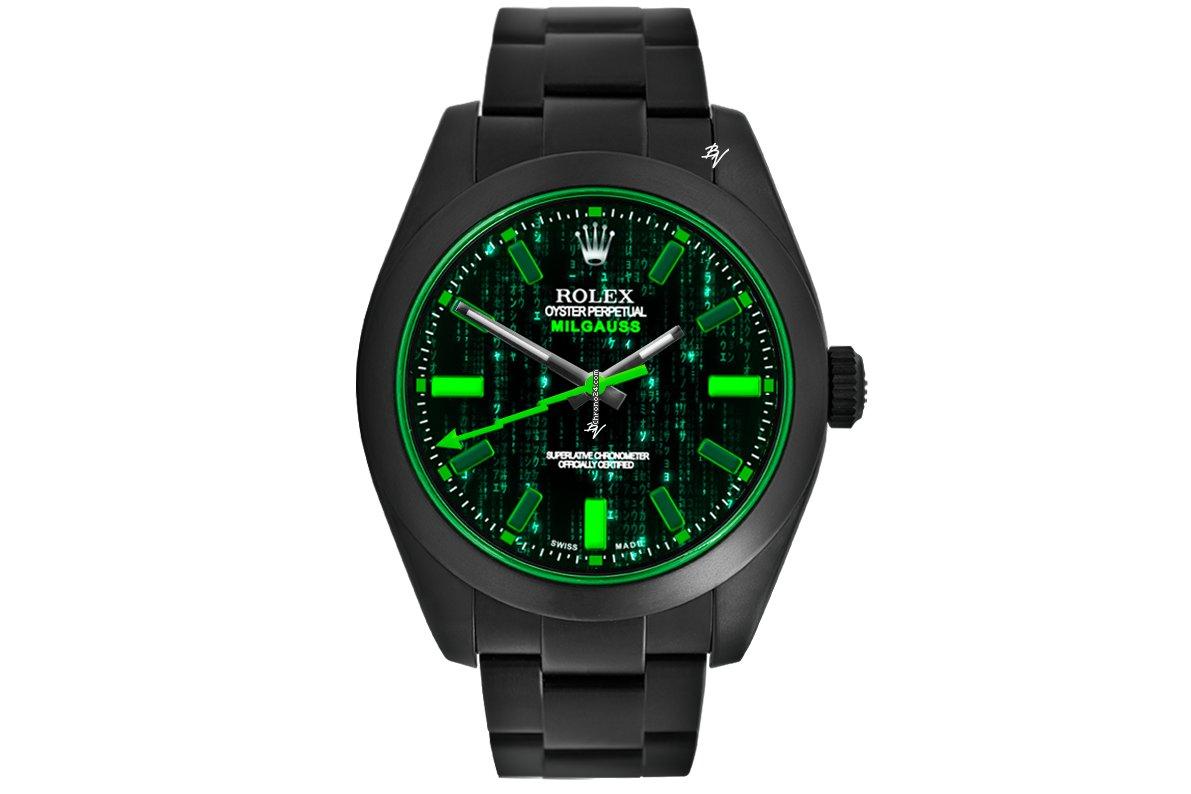 Rolex Milgauss 116400 2021 new