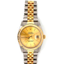 Rolex 16233 Gold/Steel 1991 Datejust 36mm pre-owned United Kingdom, Kendal