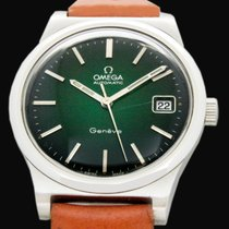 Omega Genève Steel 35mm Green No numerals United States of America, Utah, Draper