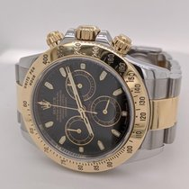 Rolex Daytona Gold/Steel 40mm Black No numerals United States of America, California, SAN DIEGO