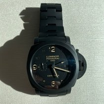 Panerai Luminor 1950 3 Days GMT Automatic Ceramic 44mm Black Arabic numerals United States of America, Florida, Boca Raton