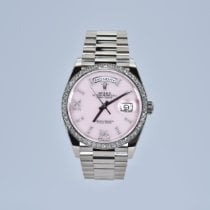 Rolex Day-Date 36 White gold 36mm Pink No numerals United States of America, California, Newport Beach