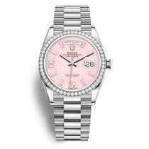Rolex Day-Date 36 White gold 36mm Pink No numerals United States of America, California, Newport Beach