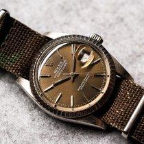 Rolex Datejust Acier 36mm Brun Sans chiffres France, Paris