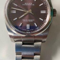 Rolex Oyster Perpetual 36 Stahl 36mm Rot Arabisch Deutschland, rommerskirchen