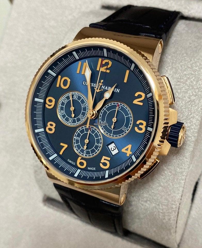 Ulysse Nardin Marine Chronograph 1506-150/63 2020 new